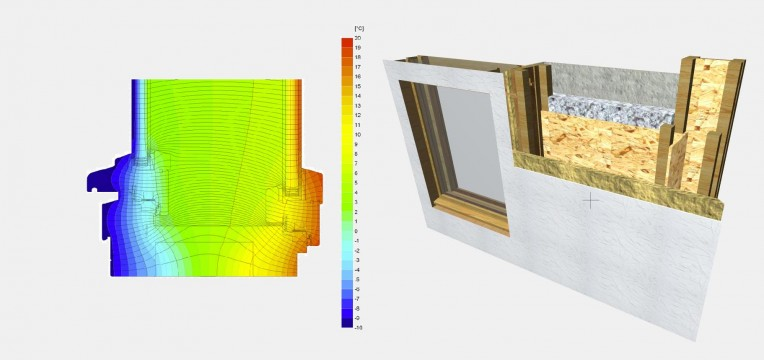 Fenster in Wand 3D